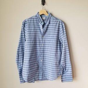 Bonobos Standard Fit Blue Stripe Button Down Shirt